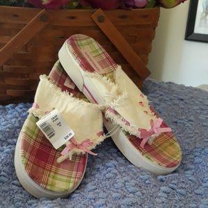 Thong Sandal - Pink Plaid